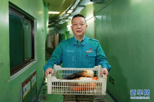 Čínský chovatel pand velkých Ma Tao