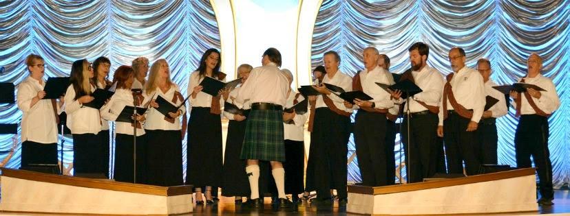 Pěvecký sbor Scientologické církve na Floridě
