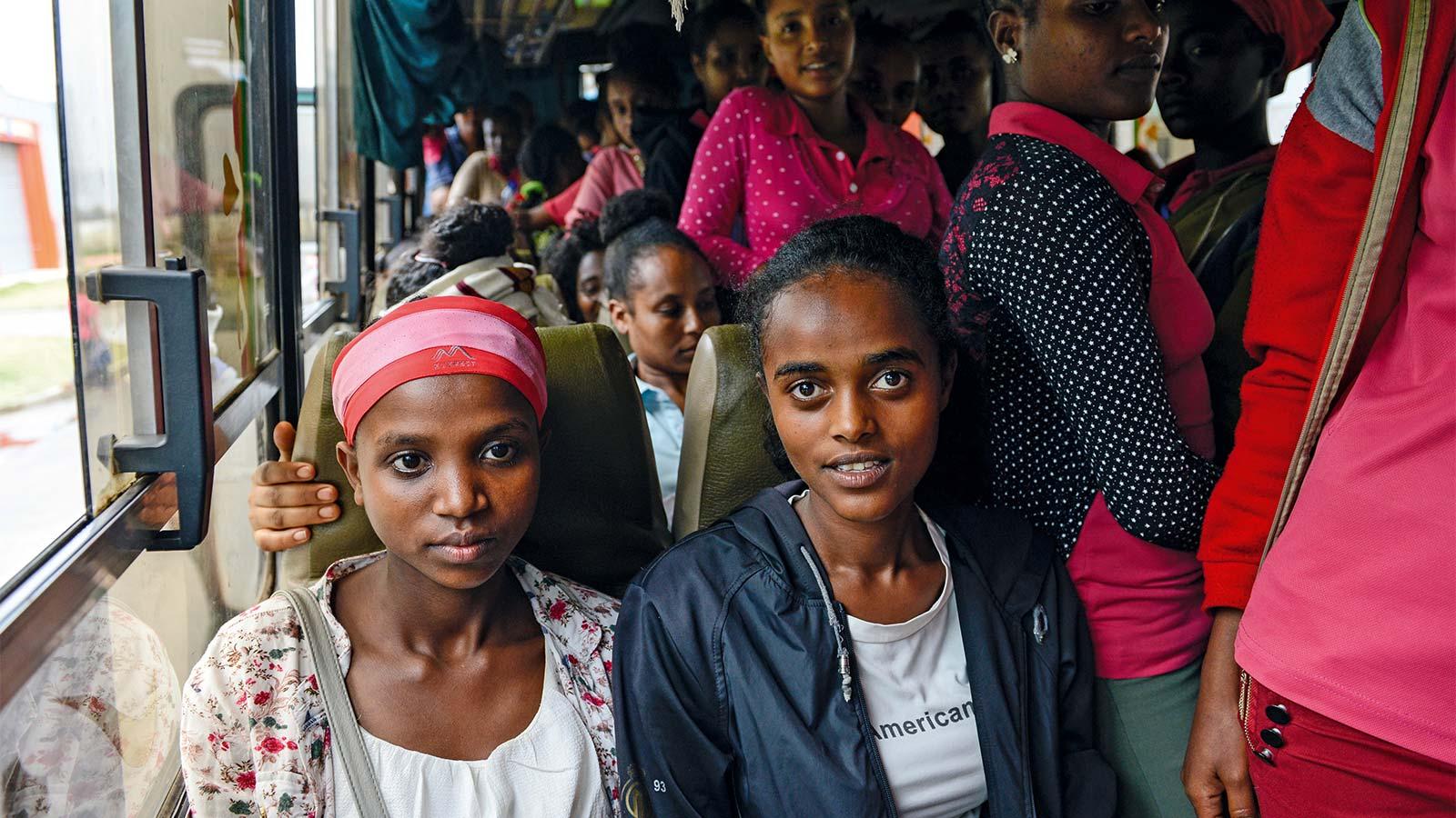 příležitost i pro obyvatele Etiopie