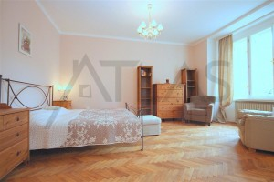 Studio apartment - Nice fully furnished studio for rent with balcony, Prague 3 Vinohrady, Slezska str., Green line A Flora