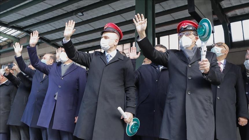 Exportní vlaky odjíždějí z Turecka do Číny a Ruska