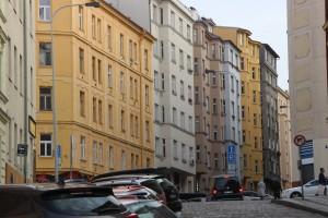 Praha 3 - Žižkov Chvalova ulice