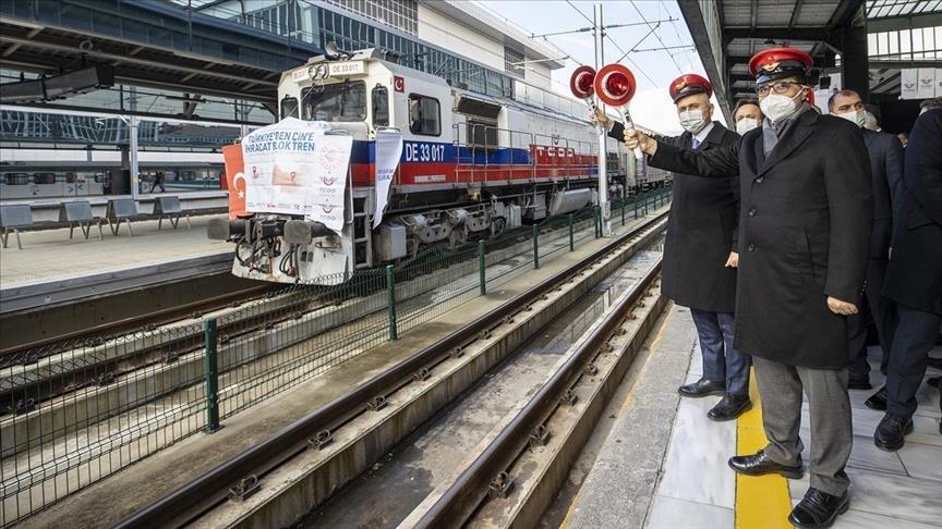 Turecko vysílá třetí exportní vlak s bórem do Číny